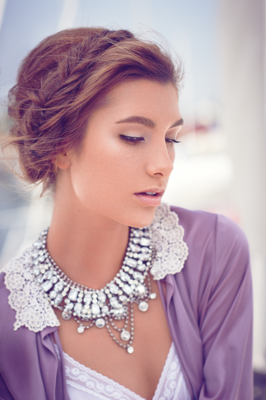 Alexandria Eissinger fotograf christian grüner smykker jewelry braid fletning purple blondes