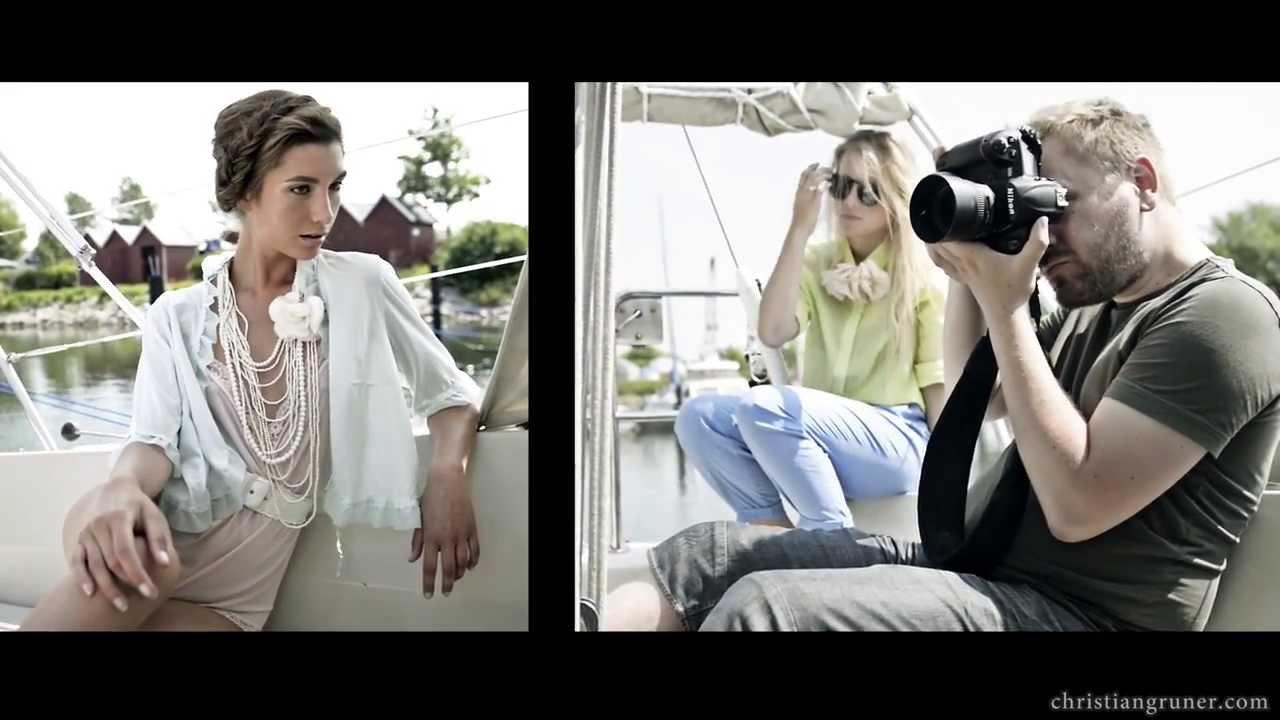 Boat photoshoot