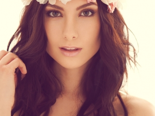 Alexandria Eissinger fotograf christian grüner portræt beauty blomster